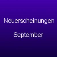 Neuerscheinungen September