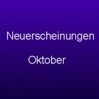 Neuerscheinungen Oktober